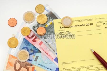 lohnsteuerkarte income tax card