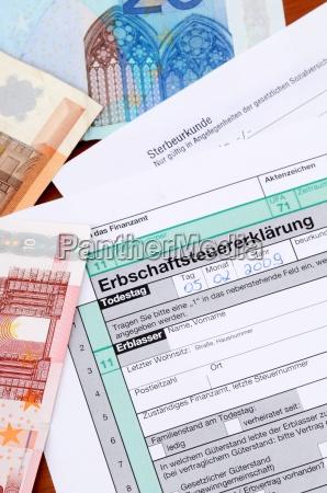 inheritance tax german death tax