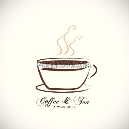 coffee tea illustration