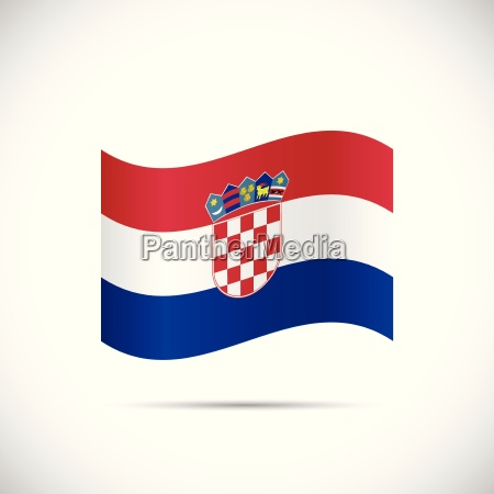 croatia flag illustration