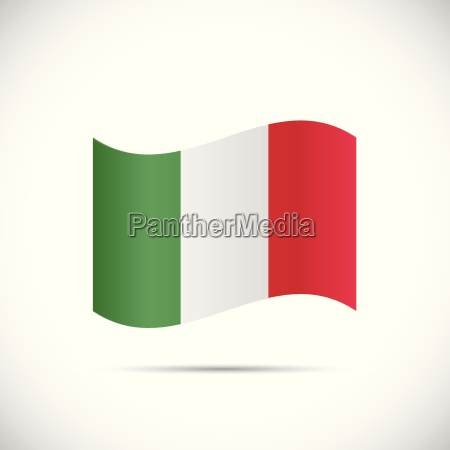 italy flag illustration