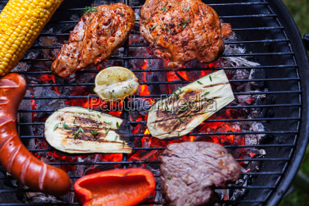 grill, seen, from, above - 13264382