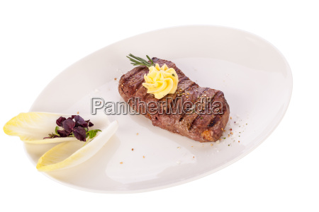juicy grilled sirloin steak with homemade