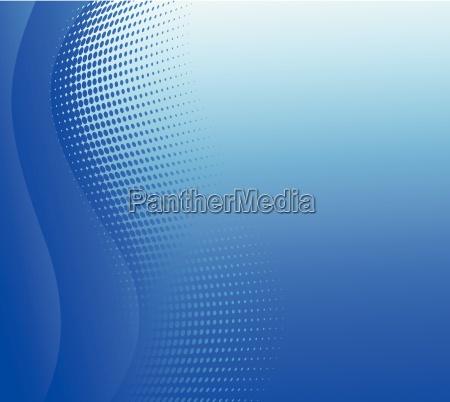 disenyo abstracto fondo azul