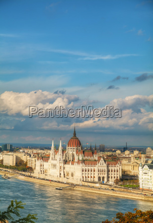 parliament building in budapest hungary