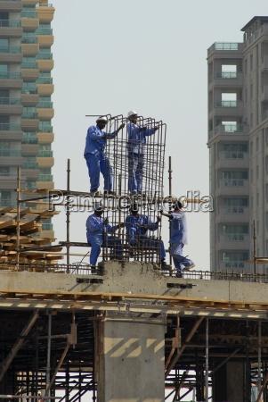 dubai construction site