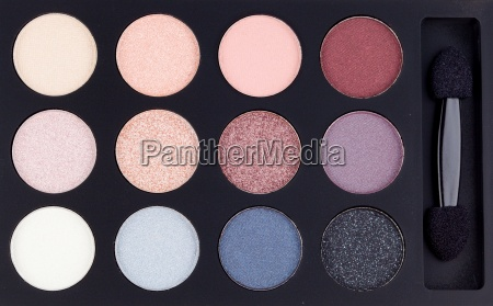 eyeshadow palette background
