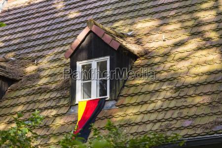 germany flag of a football fan