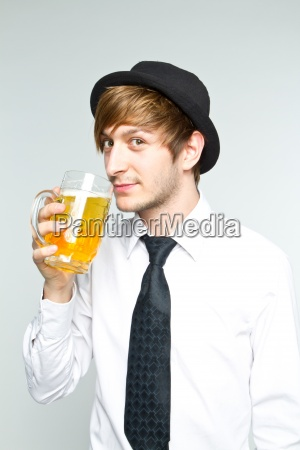 drink drinking bibs hat person alcohol