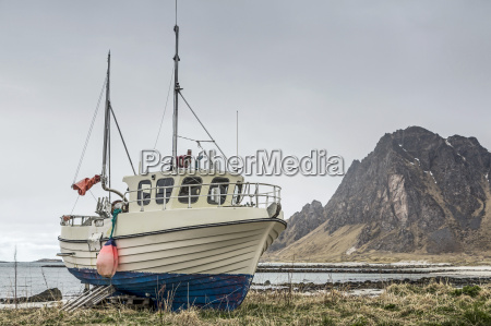 trawler ashore