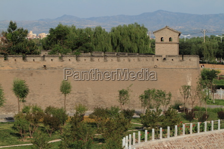 the walled city of pingyao in