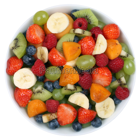 fruit salad with fruit in a
