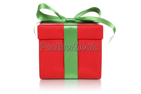 red gift with bow for gifts