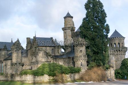 the lion castle in kassel northern