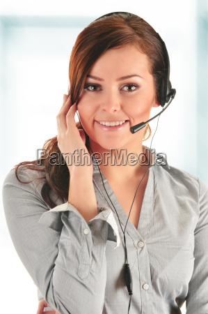 call center operator customer support help