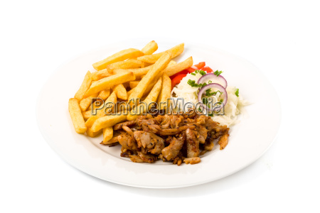 doenerteller with fries