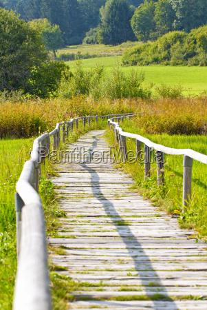 nature trail on the swabian alb