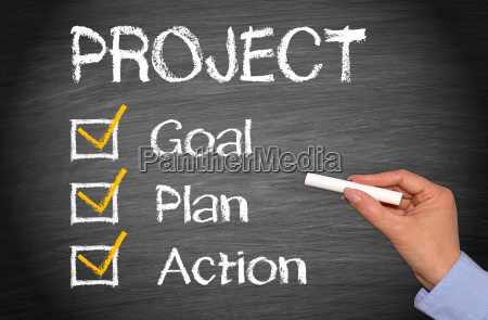 project goal plan action