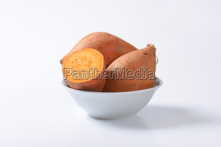 sweet potato roots