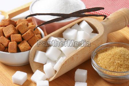 various, types, of, sugar - 13404432