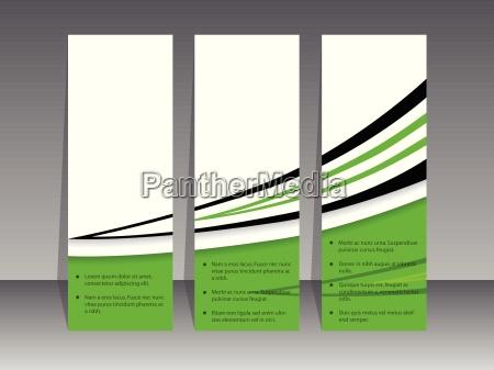 green label set with black swoosh