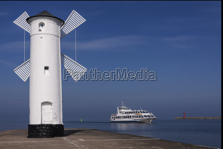 lighthouse, port, of, swinoujscie, -, poland - 13413272