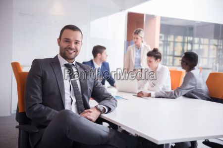 business, people, group, at, office - 13417236