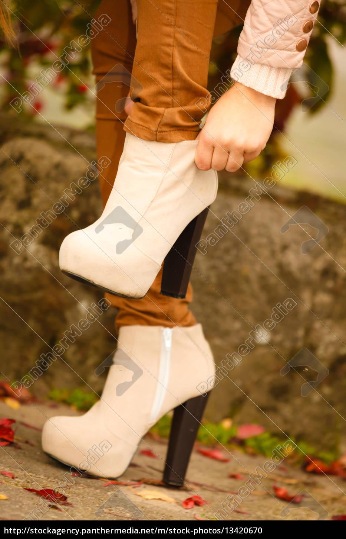 autumn, fashion., female, legs, in, stylish - 13420670