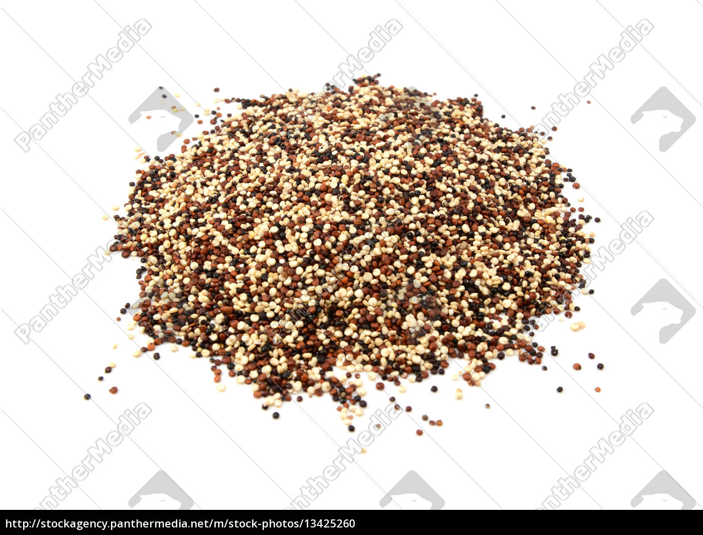 mixed, red, , white, and, black, quinoa - 13425260