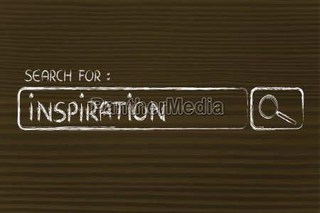 search engine bar search for inspiration