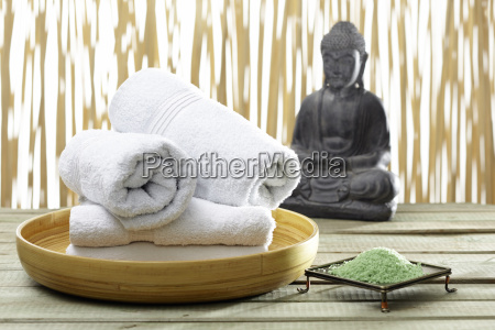 bhuddha towels bath salts