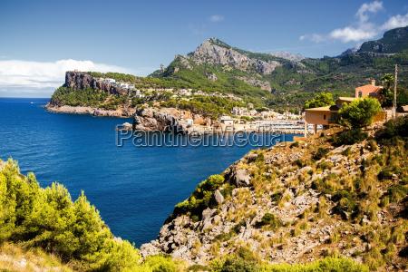 bay of port de soller mallorca