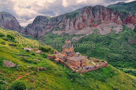 scenic novarank monastery in armenia famous