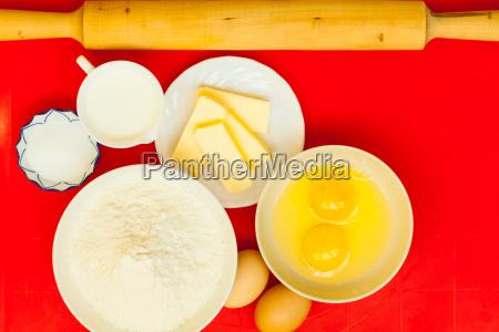 preparation, for, baking, bake, ingredients. - 13454348