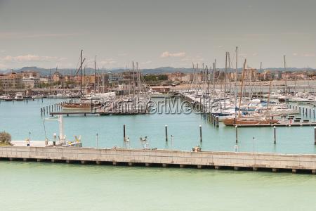marina bay in rimini italy