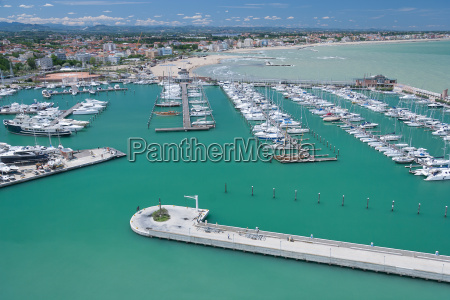 marina bay in rimini italy