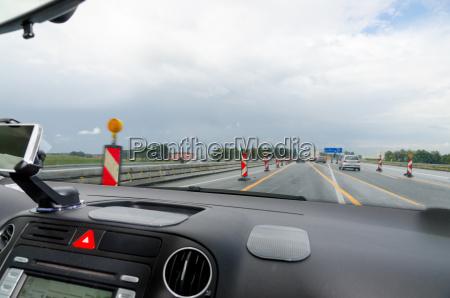 car cockpit