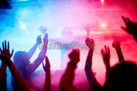 dancing, crowd - 13460598