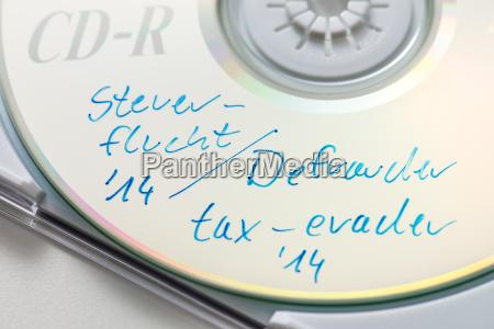 tax evasion cd