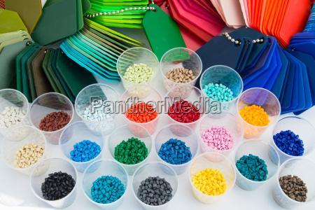 plastic polymer granulate resin