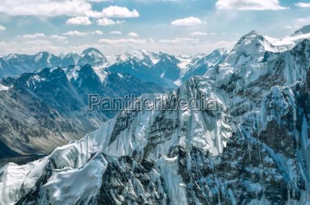mountain, peaks, in, pamir - 13465076