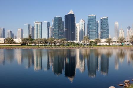 jumeirah lake towers in dubai united