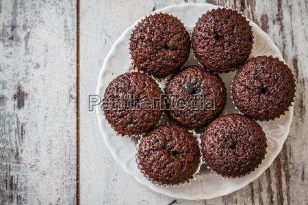mini, chocolate, brownie, cupcakes - 13479808