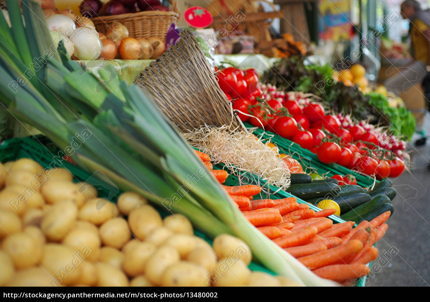 vegetable, stand - 13480002