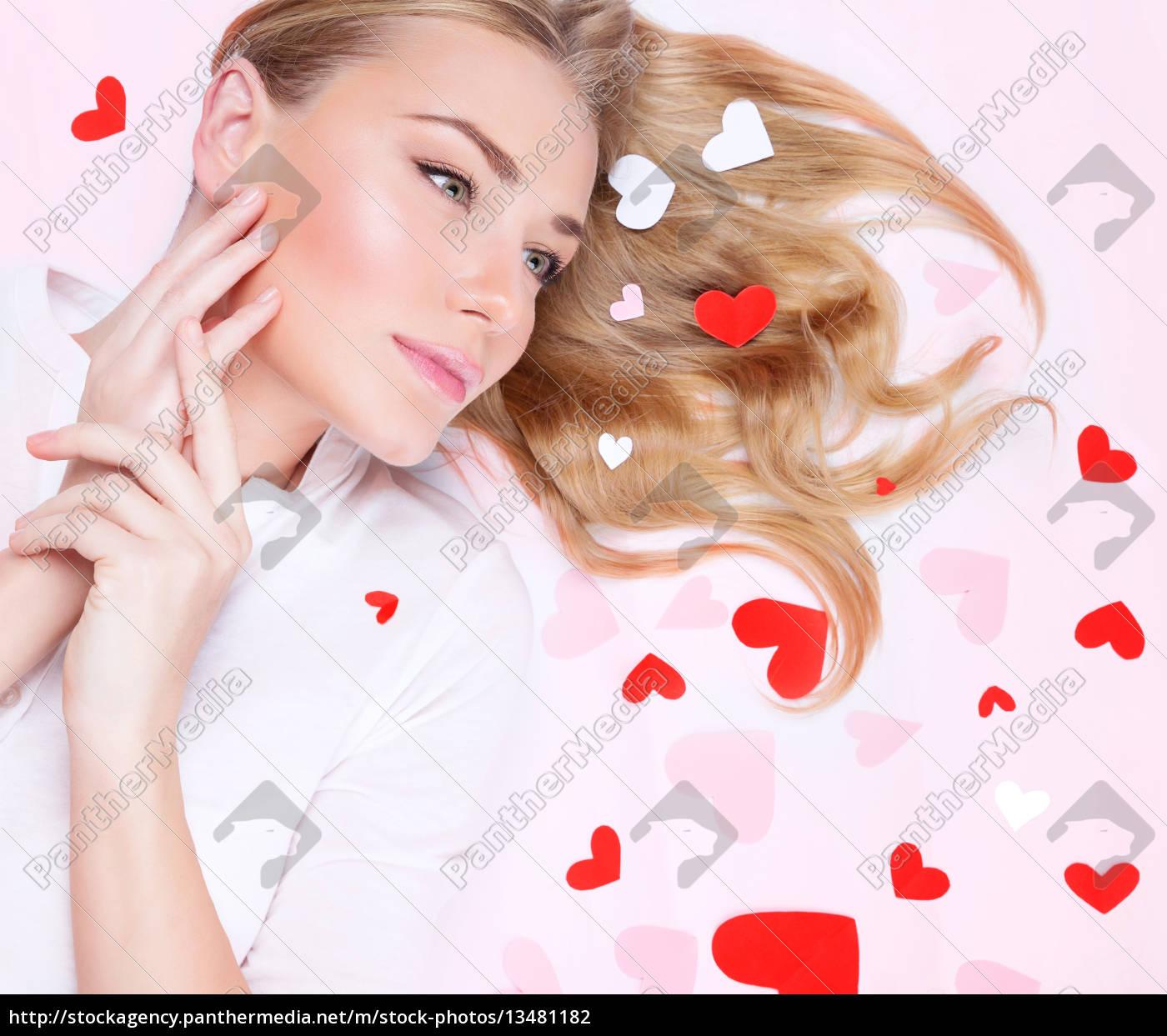 beautiful, romantic, woman - 13481182