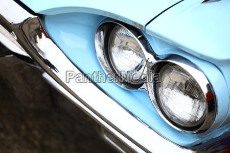vintage, headlight - 13496088
