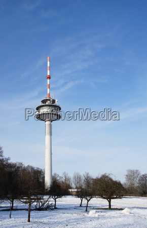 funkturm with directional antennas