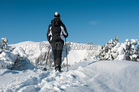 winter, hiking - 13501222