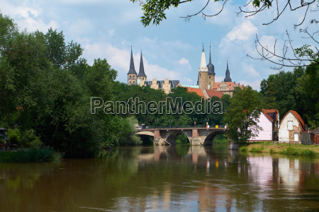 castle and cathedral merseburg saxony anhalt