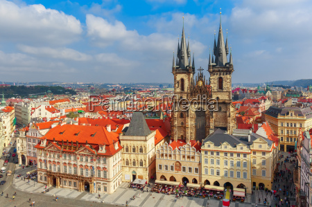 old town square in prague czech